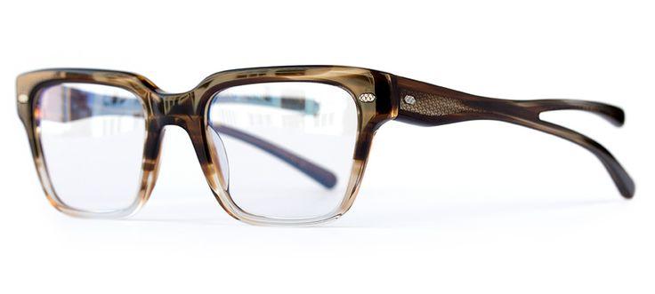 Activist Eyewear, modèle Krieger 6 Smoky Topaz / Silver. Design in Brooklyn, NYC. Handmade in Japan. #myeyesup #activisteyewear