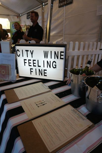 House of Cards stand #citywine #perth #wine
