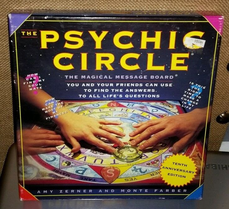 "Psychic Circle 18"" Ouija-Style Message Board Astrology 10th Anniversary Edition"