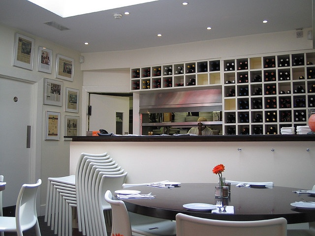NOSH RESTAURANT DALKEYImage By InfomatiqueSamantha And Sacha Farrells Bright Contemporary Restaurant Is Next To The Famous Club Bar With Its Clean