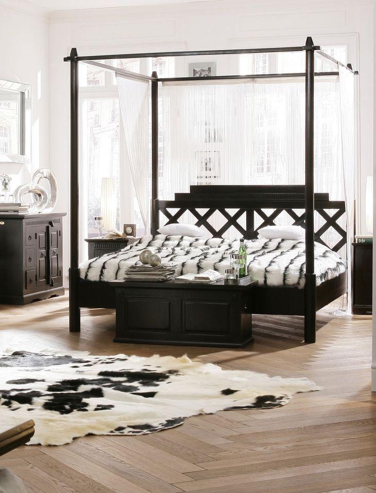 Holzbett landhausstil  Bett 160x200 Pinterest'te | Sheesham Möbel, Rollrost ve Bett ...