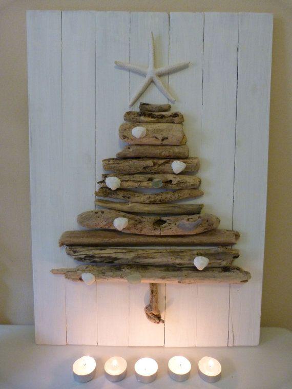 Driftwood xmas tree | Christmas | Pinterest | Christmas, Xmas and Beach christmas