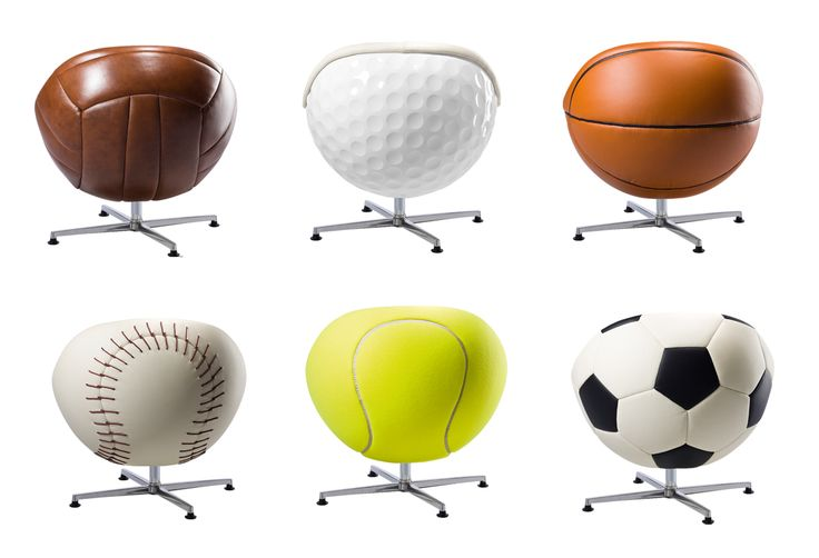 chairs | For The True Armchair Athlete. VIP Sports Lounges & Ottomans By Paolo ...
