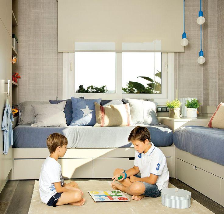 Un cuarto que crece con ellos · ElMueble.com · Niños