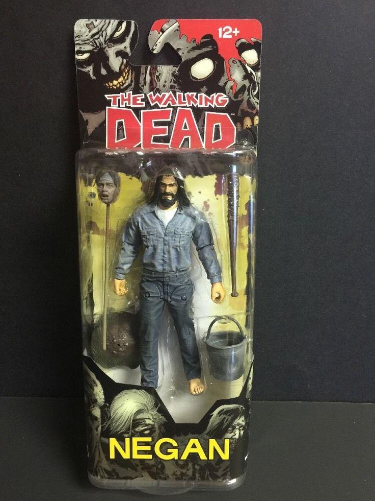 McFarlane Toys The Walking Dead Series 5 inch Action Figure  Negan Imprisoned