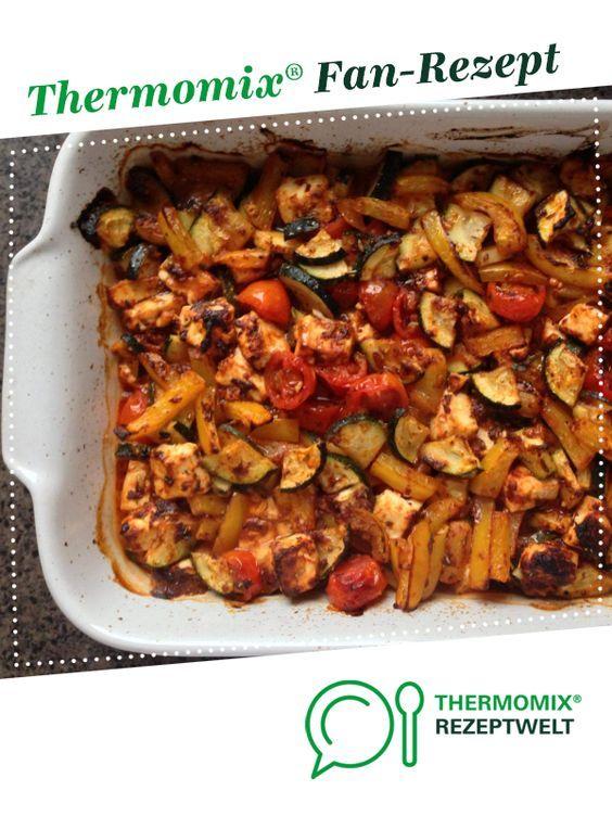 Verduras mediterráneas al horno   – Thermomix