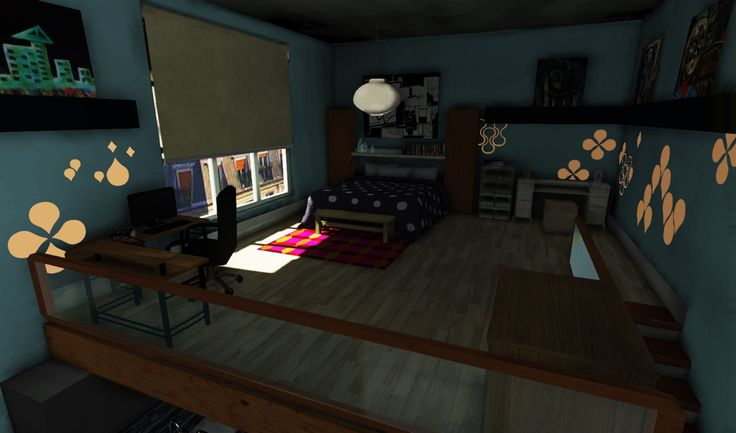Loft,The final scene was rendered in UDK