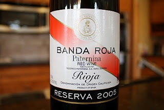 Federico Paternina Banda Roja Reserva 2005 - Journey Through Rioja Wine #5. $13, read the rest!