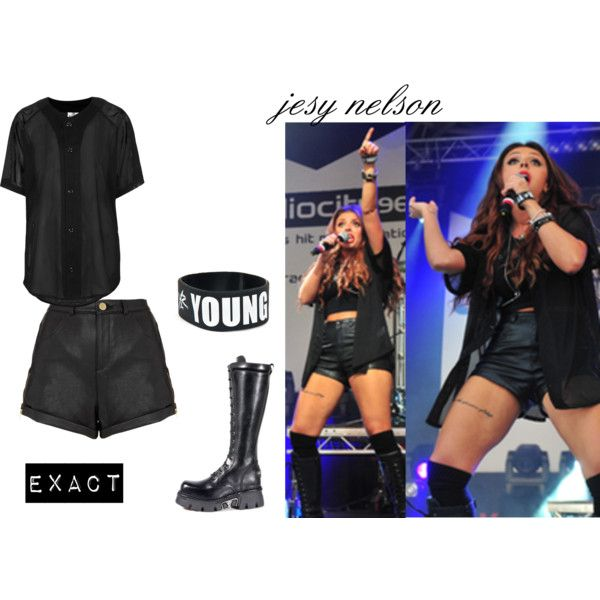 jesy nelson, created by leigh-jena on Polyvore