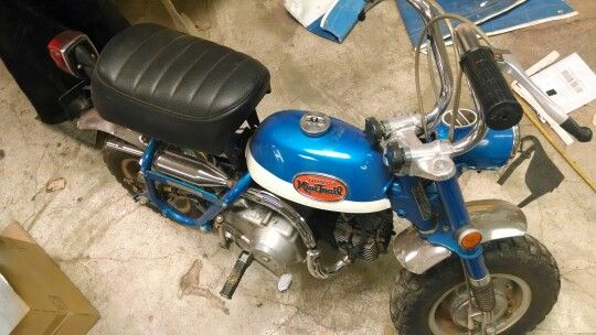 40 years later and still running ,my other monkey bike