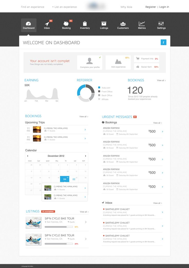 #UI Dashboard