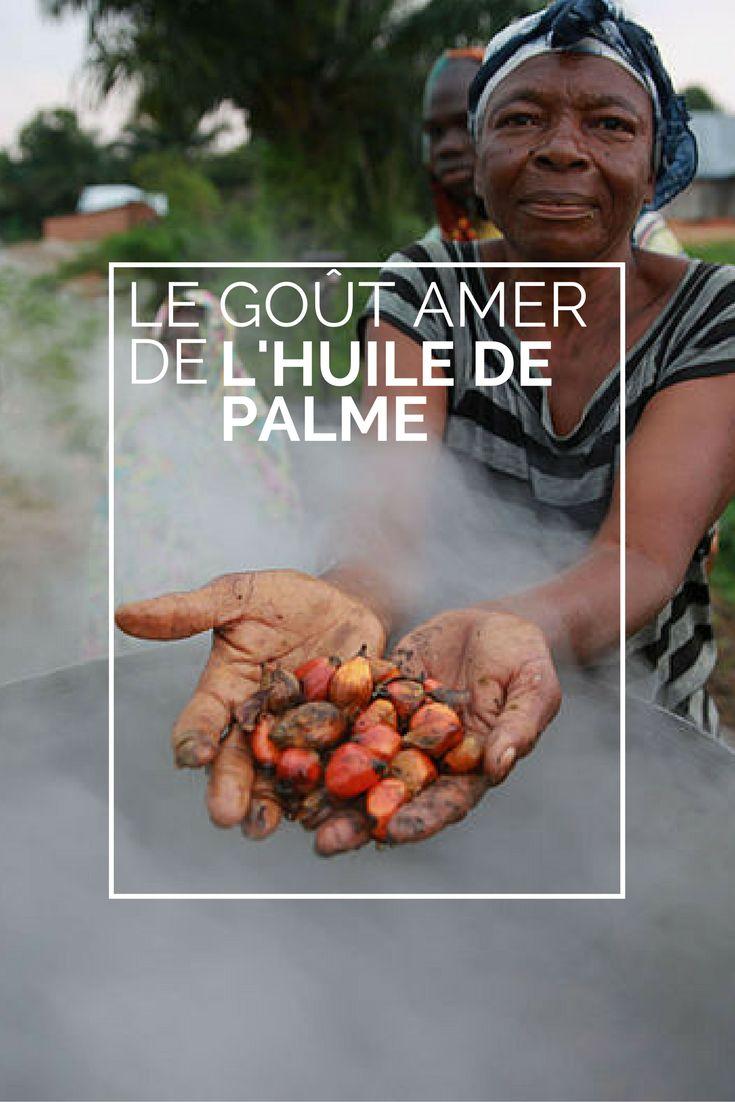 Survol autour de la problématique qu'est l'huile de palme et réflexions sur les alternatives possibles au quotidien pour cesser l'utilisation de ce produit.