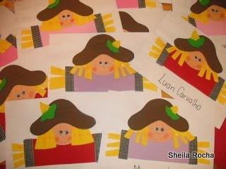 Fazendo Arte na Escola III: Envelopes decorados: Goma Eva, Envelopes Decorado
