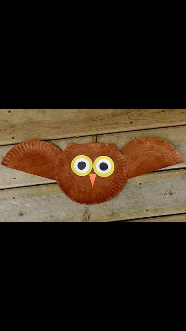 Owl craft...cute bulletin board?