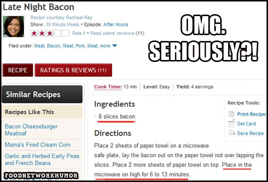 "Food Network Humor » The Most Ridiculous Food Network ""Recipe"" Of All Time"