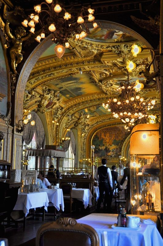 Restaurant, Le Train Bleu, gare de lyon 12e