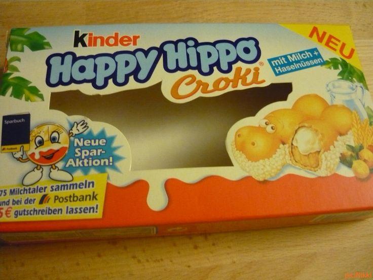 No. 178 | víziló | hippo | doboz | box | Kinder Happy Hippo
