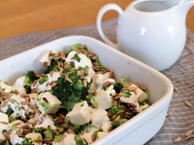 pyszna i zdrowa sałatka z brokułami