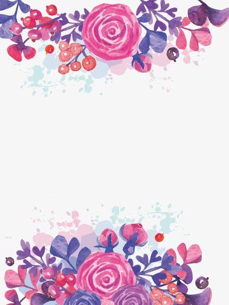 Ilustración de flores PNG y Vector