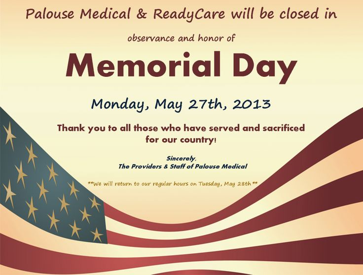 closed on Memorial Day Signs png - Google Search | Office ...
