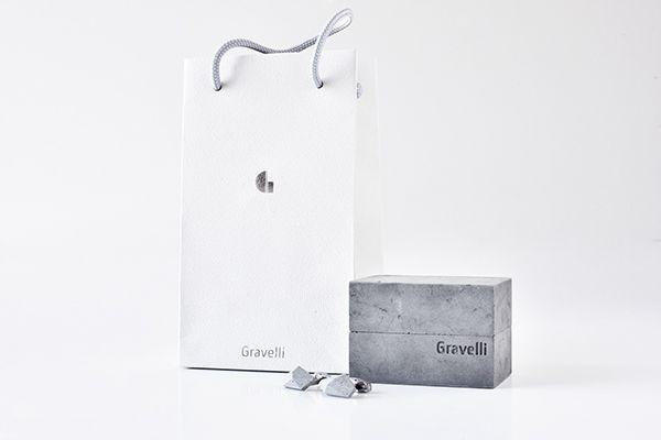 Concrete cufflinks by Tomas Vacek www.studiovacek.cz   designed for Gravelli www.gravelli.com   BUY http://shop.gravelli.com/en/accessories