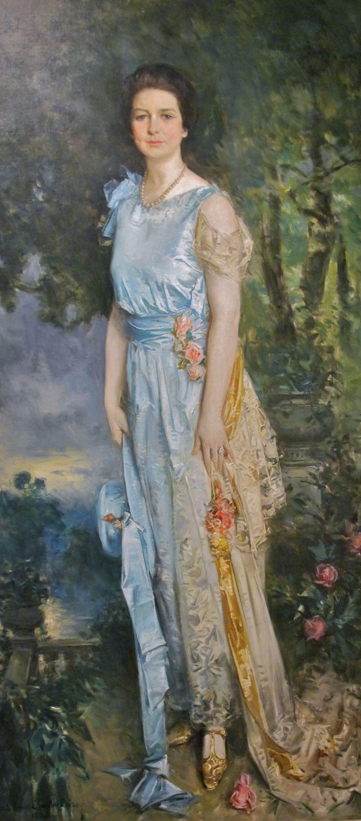Portrait of Mrs. Hoyt Colgate Howard Chandler Christy ...