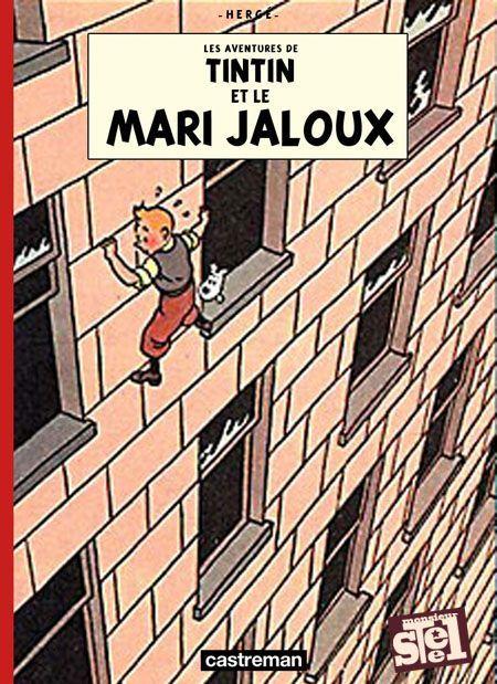 Les Aventures de Tintin - Album Imaginaire - Tintin et le Mari Jaloux
