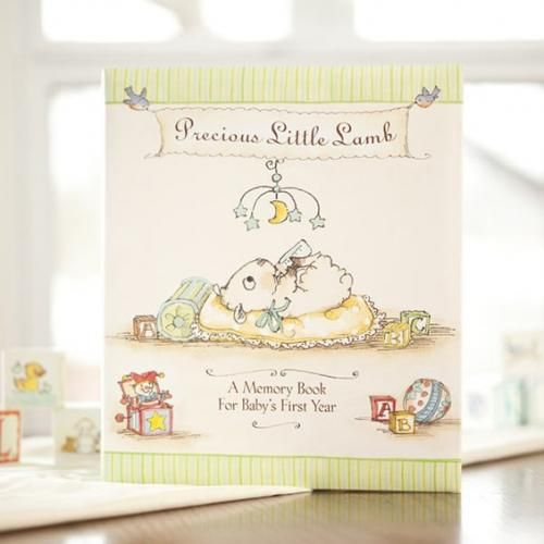Baby Gift Baskets South Australia : Really woolly baby memory book http babygifts