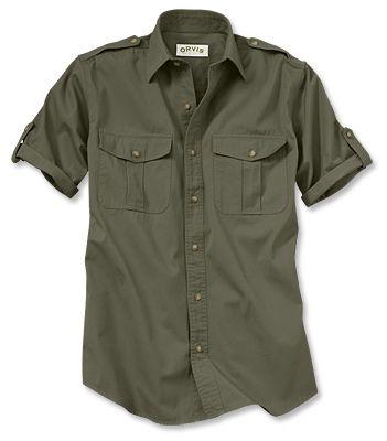 Just found this Bush+Poplin+Short-Sleeve+Safari+Shirt+-+Short-Sleeved+Bush+Shirt+--+Orvis on Orvis.com!