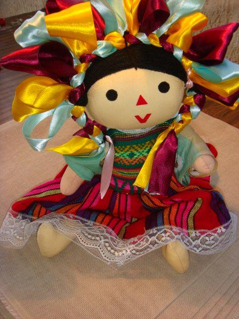 MUÑECAS DE TRAPO - Artesanías, Souvenirs y Regalos Típicos
