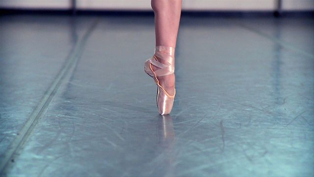 """Pointe Shoes"" - This video follows Megan Fairchild, a principal dancer for the New York City Ballet, and her search for the perfect pointe."
