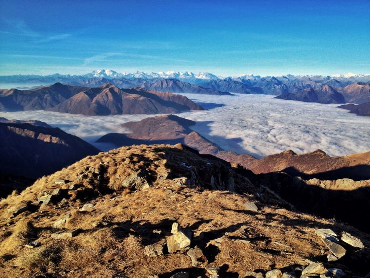 Mount Camoghè (Ticino, Switzerland) Photo: Luca Manetti #trailburning