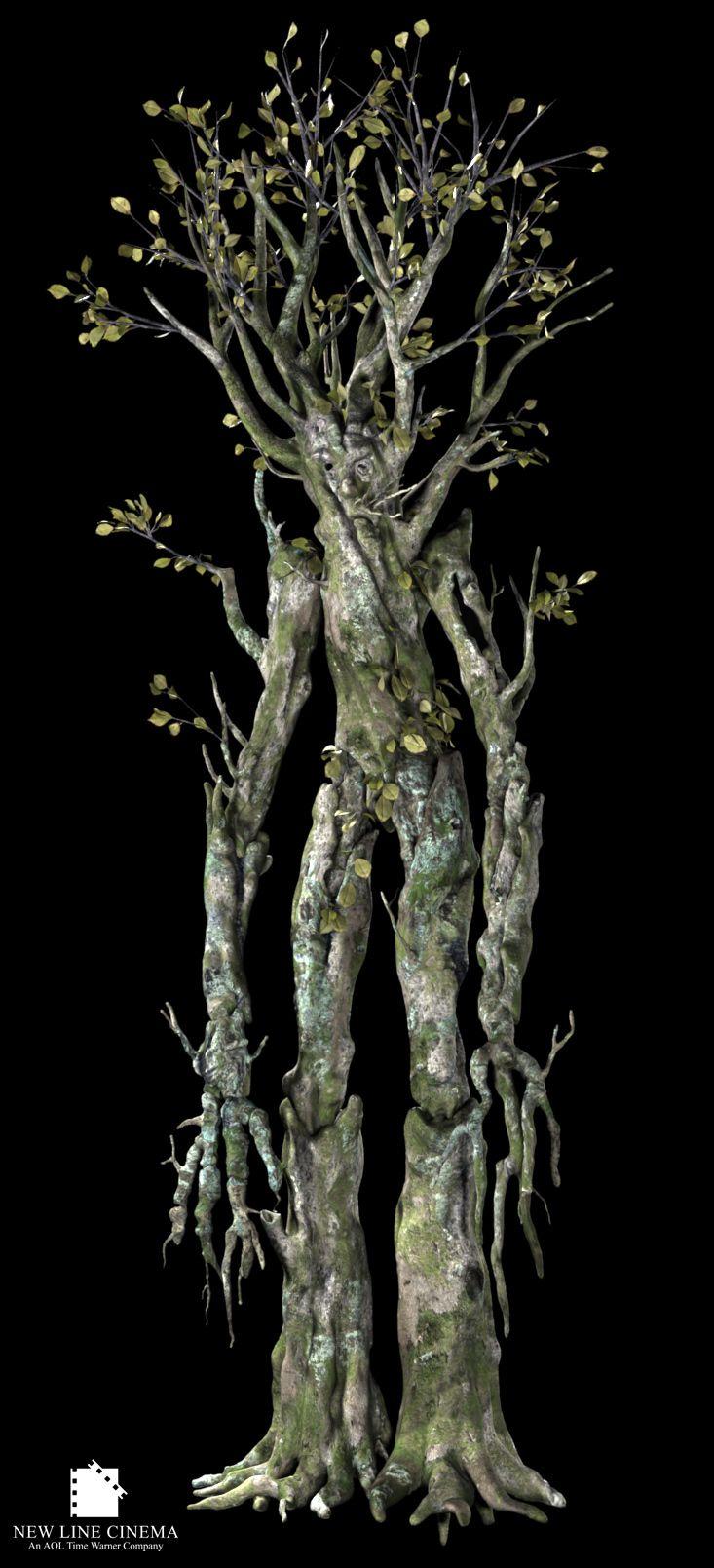 Druids Trees:  An Ent.