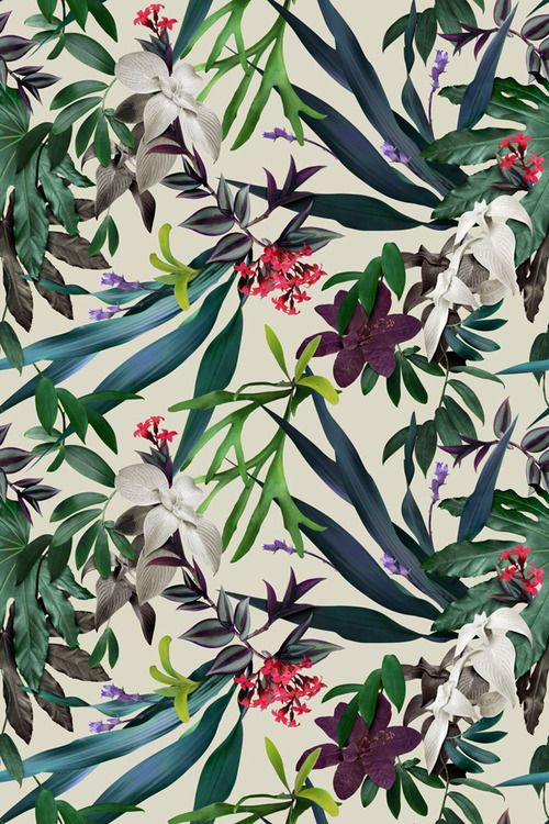 #Floral pattern #jungle