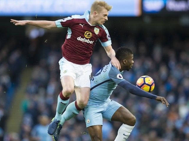 Result: Ten-man Manchester City edge out Burnley #Manchester_City #Burnley #Football