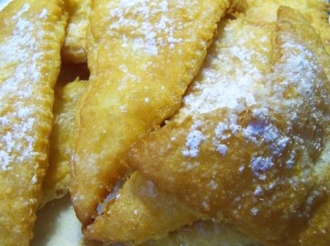 Who needs French toast when you can fry Pillsbury croissant (crescent) dough? (Photos)