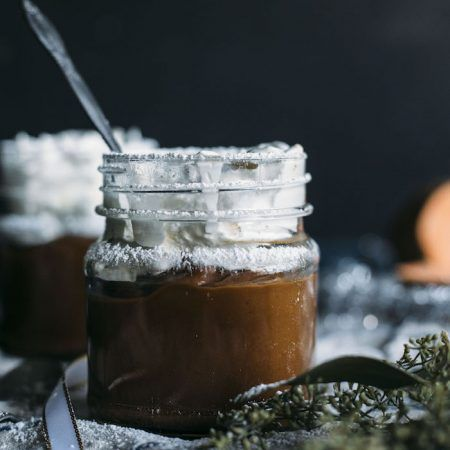 Chocolate Sweet Potato Pudding | Pudding made from sweet potatoes that's both vegan and paleo