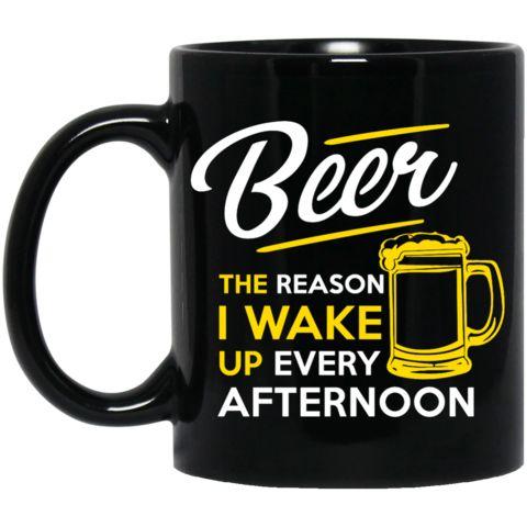 Beer, the Reason I Wake Up Every Afternoon Black Mug https://www.soulpirates.shop/collections/beer-lovers/products/beer-the-reason-i-wake-up-every-afternoon-black-mug #soulpiratesshop #instabeer #ilovebeer #beer #craftbeer #craftbeerhour #beerporn #homebrew #beergasm #beergeek #beernerd #beerstagram #beerlove #beerlover #beerme #beertime #design #apparel