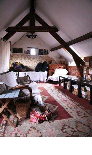 Attic living space
