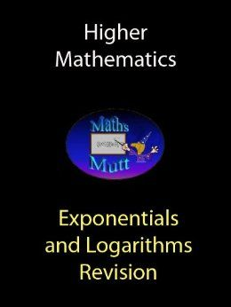 These notes are primarily designed for the current SQA Higher Mathematics course but  are suitable as a revision aid for anyone studying exponentials and logarithms.