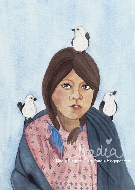 Talks With Birds (www.artofnadia.blogspot.com)