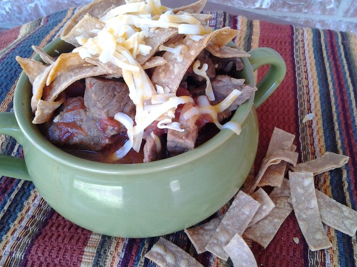 Meaty and delicious Big Red Soup.  Great for a chilly Fall day by O Taste and See
