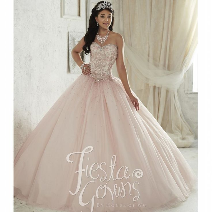 25  best ideas about Light pink quinceanera dresses on Pinterest ...