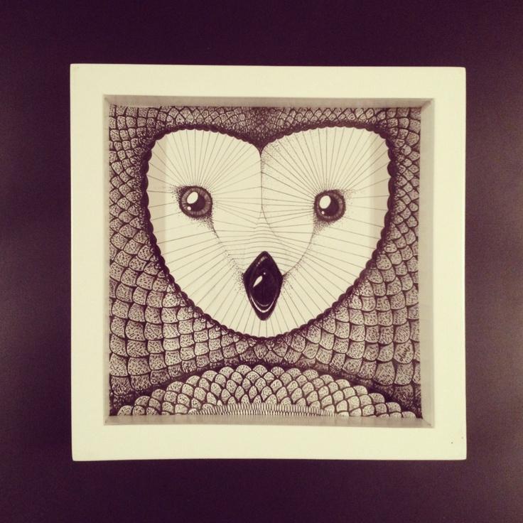 Oak Tree Owl #WhyteBox