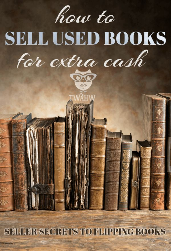 Expert seller tips to sell used books for extra cash