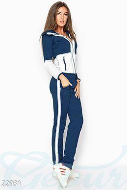 Gepur   Спортивный костюм аппликация арт. 20235 Цена от производителя,  достоверные описание, отзывы 25a64fe01d8