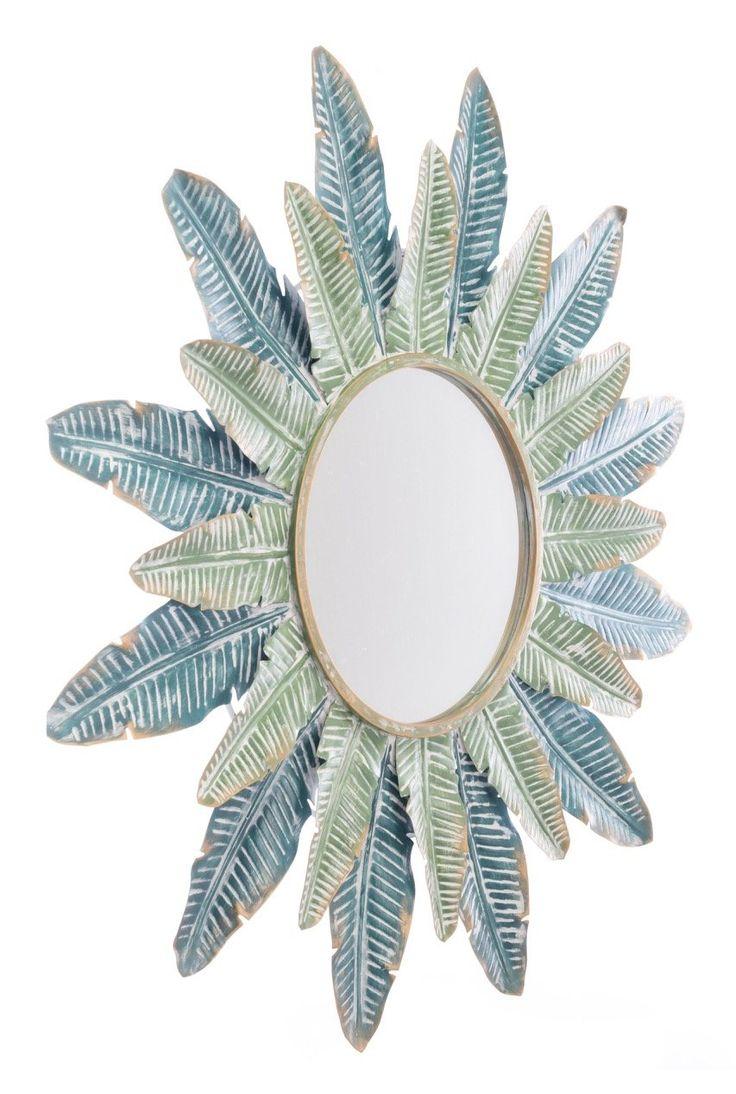 Tropic Mirror in Green