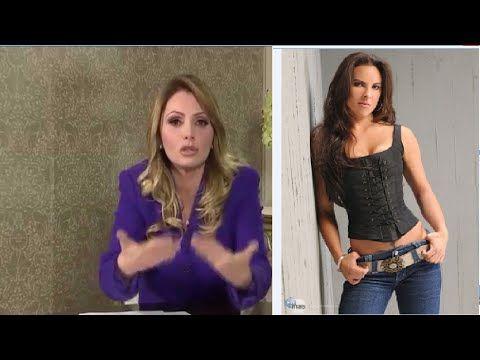 Osorio Chong amenazó a Kate del Castillo: Lydia Cacho en Univision - YouTube