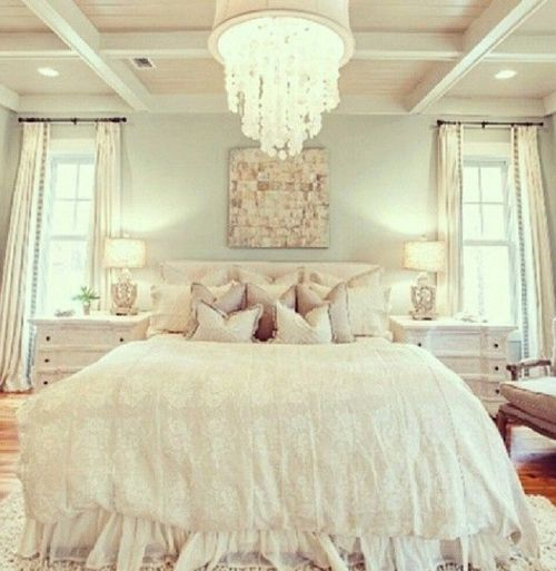 Pretty Bedroom Colors: Fairytale Bedroom, Pretty Light And Soft Colors.