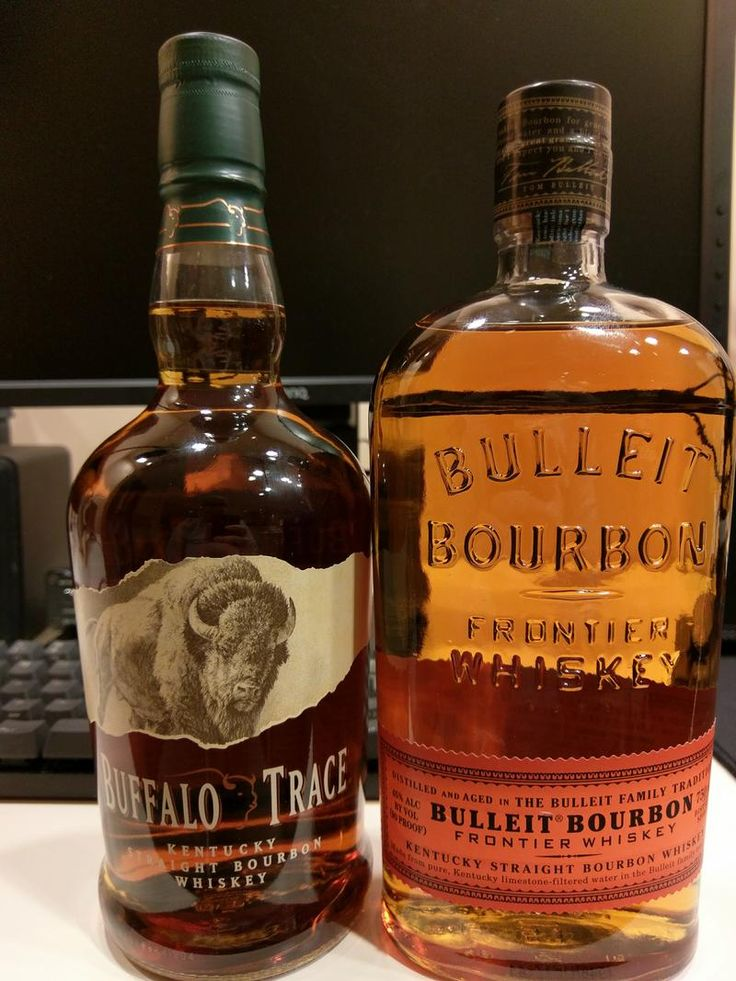 First time trying bourbon.. Review 1 & 2 - Buffalo Trace and Bulleit #bourbon #whiskey #whisky #scotch #Kentucky #JimBeam #malt #pappy